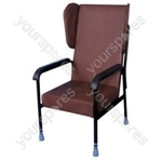 Chelsfield Height Adjustable Chair - Colour Brown