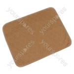 Washable Chair or Bed Pad - Colour Light Brown