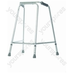 Lightweight Walking Frame for Home Use - Configuration No Wheels