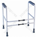 Broadstairs Toilet Frame with Adjustable Height and Width - Configuration Free Standing