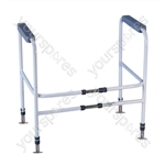 Broadstairs Toilet Frame with Adjustable Height and Width - Configuration Floor Fixed