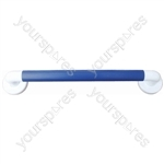 President Grab Bar with Blue Grip - Size Length (450 mm)