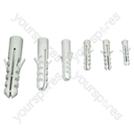High Density Wall Plug (30x 6mm). Sold and Priced in Packs of 1000