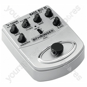 Behringer BDI21V-Tone Bass Guitar Stomp Box