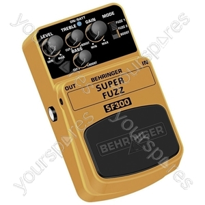 Behringer SF300 Super Fuzz Guitar Effects Pedal