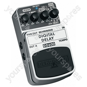 Behringer DD600 Digital Delay Guitar Effects Pedal