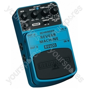 Behringer RV600 Reverb Machine Guitar Effects Pedal