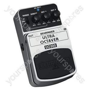Behringer UO300 Ultra Octaver Guitar Effects Pedal