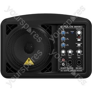 """Behringer B205D Eurolive 5"""" Active Monitor Speaker Cabinet"""