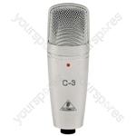 Behringer C-3 Studio Condenser Microphone