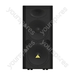 "Behringer VP2520 Eurolive Speaker Cabinet With Dual 15"" Drivers"
