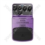 Behringer BOD400 Bass Overdrive Guitar Stomp Box