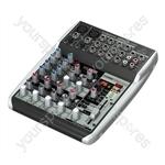 XENYX QX1002USB Premium 10 Input 2 Bus Mixer with British EQs, 24 Bit Multi-FX Processor and USB/Audio Interface