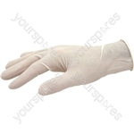 Handies Disposable Latex Gloves - One Size