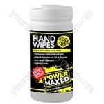 Power Maxed Heavy Duty Hand Wipes 200Pck