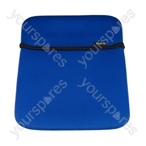 iPad Neoprene Case - Blue/black