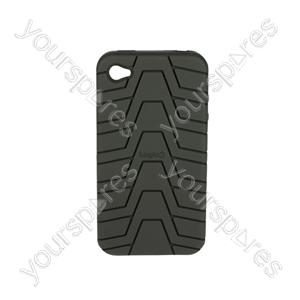 iPhone 4 - Silicone Grip - Black