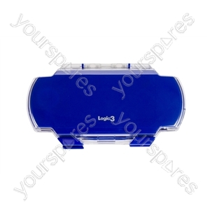 PSP2 Crystal Clear Armour Case - Blue