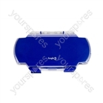 PSP2 Crystal Clear Armour Case - Blue