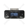 FM Transmitter with LCD Screen for iPod