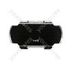 PSP2 Crystal Clear Armour Case - Black
