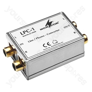 Line Phono Converter - Line/phono Adapter