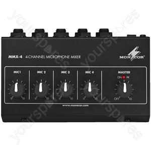 Microphone Mixer - Miniature Microphone Mixer