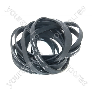 Hoover Agitator Drive Belt - Pack of 10