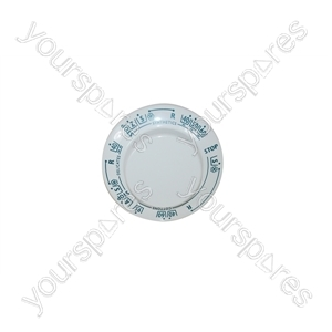 Hoover White Washing Machine Timer Knob