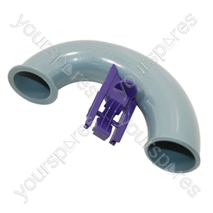 U Bend Assembly Silver Purple