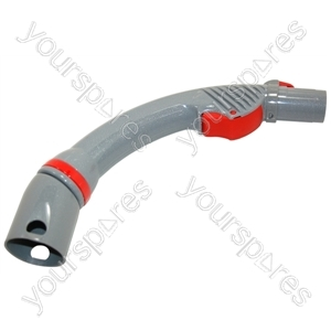 Wand Handle Assembly Silver/red