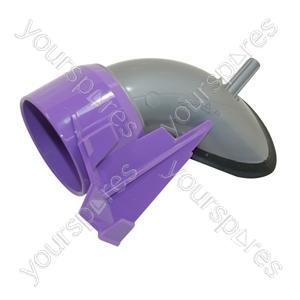 Cyclone Inlet Steel/lavender