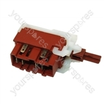 Hoover AC16 Washing Machine On/Off Switch Assembly