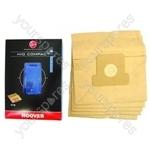 Hoover Standard Filtration Bags (H10) - Pack of 5