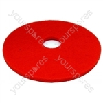 "Cleaning Pad 17"" Red"