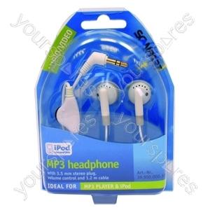 Headphones Mp3 + Vol Reg