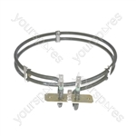 Etna Replacement Fan Oven Cooker Heating Element (2500w) (2 Turns)