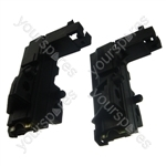 HL washing machine carbon brush & holders 4.6mm Terminals
