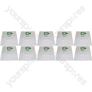 Numatic 5 Layer Microfibre Vacuum Cleaner Dust Bags (10 Pack)