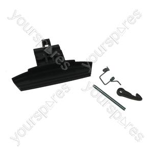 Hotpoint Door handle kit - graphite hot/ari rad Spares