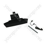 Hotpoint Door handle kit - graphite hot/ari rad Spares